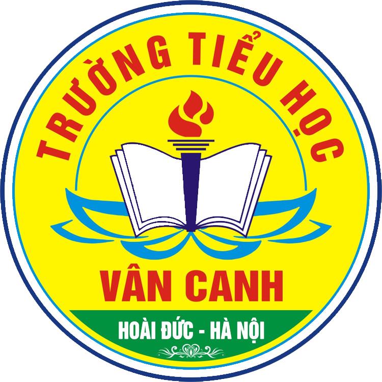 LOGO Trường Tiểu Học Vân Canh