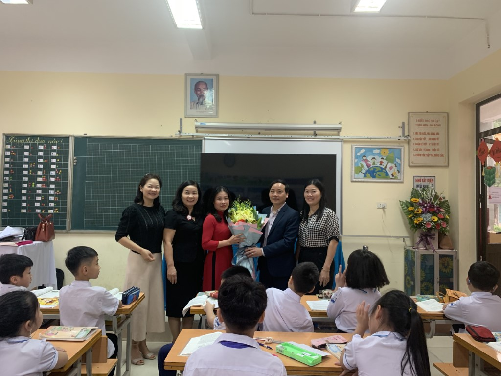 Tổ chức thi giáo viên giỏi cấp Thành Phố 2020-2021